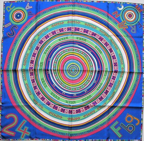 Tohu Bohu Hermes Scarf 2004 Claudia Stuhlhofer-Mayr