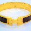 Clic Clac H Brown Enamel GHW Bracelet