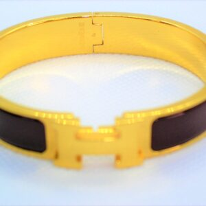 Clic Clac H Enamel GHW Bracelet