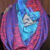 vintage Hermes shawl scarf