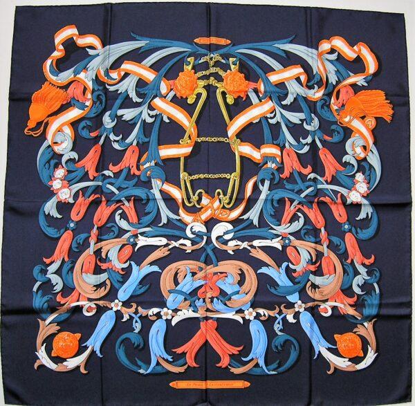 Vintage Hermes Scarf Cavalcadour Hermes Scarf 2011 Henri d'Origny