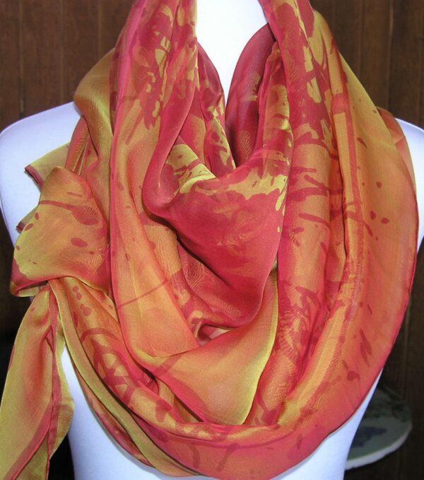 Cheval Surprise Hermes Changeant Mousseline Shawl vintage Hermes scarf