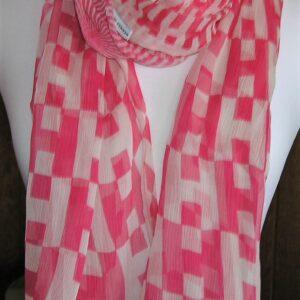 vintage Hermes scarf Op H Hermes Crinkley Mousseline Stole