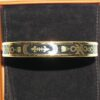 vintage hermes scarf enamel bangle