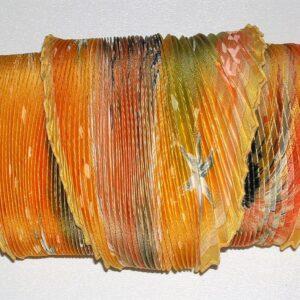 vintage Hermes scarf plisse