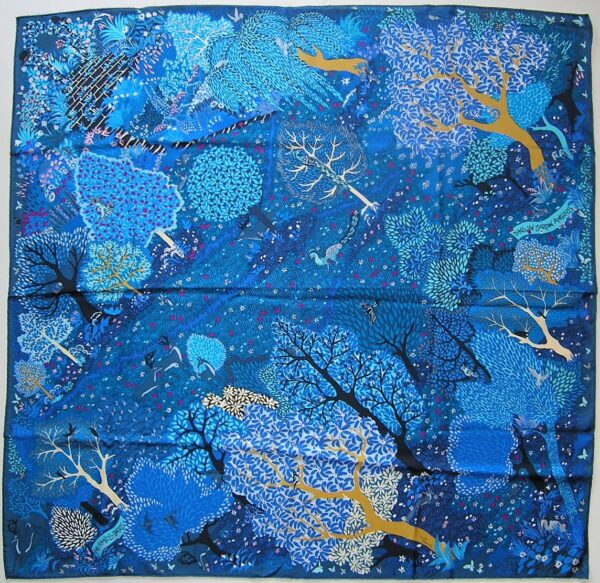 Dans un Jardin Anglais Hermes Scarf 2015 Alice Shirley