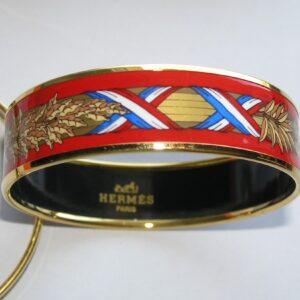 vintage Hermes scarf jewelry