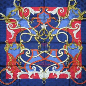 used vintage Hermes scarf