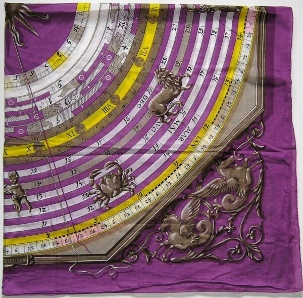 vintage Hermes cotton shawl