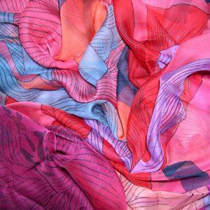vintage Hermes scarf shawl mousseline