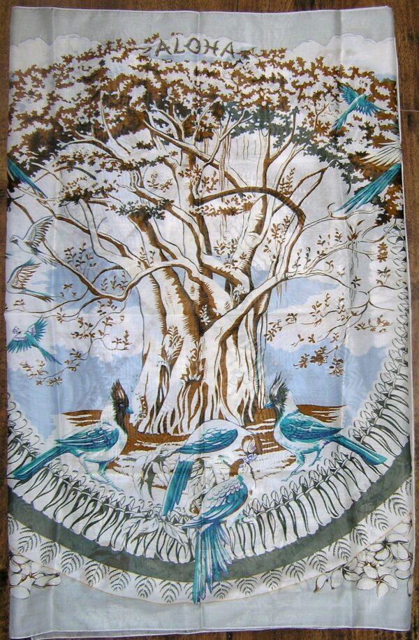 Aloha Hermes Cotton Sarong Pareo Shawl Stole 36x68