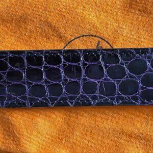 vintage Hermes leather belt scarf ring