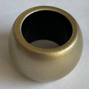 MaiTai Lacquered Horn Scarf Ring