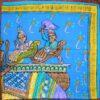 vintage Hermes cashmere shawl