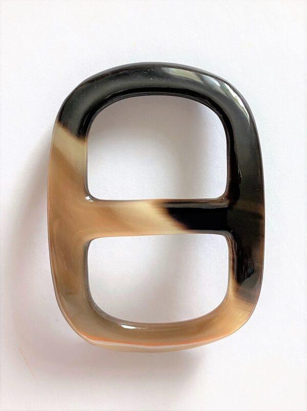 vintage horn shawl ring